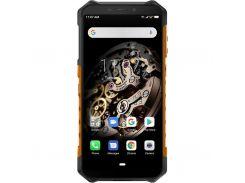 мобильный телефон ulefone armor x5 3/32gb orange (6937748733683)