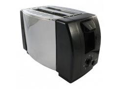 Тостер CROWNBERG CB1106 220V 750W Серебряный