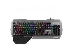 Клавиатура игровая MEETION Gaming RGB Backlit MK-20, черно-серая