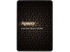 SSD накопитель Apacer AS340X 120GB SATAIII 3D NAND (AP120GAS340XC-1) (6665475)