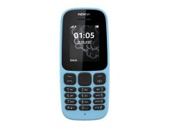 Nokia 105 Single Sim New A00028372 Blue