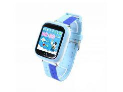 Детские смарт-часы UWatch Q100S с Bluetooth Blue (2965-8319)