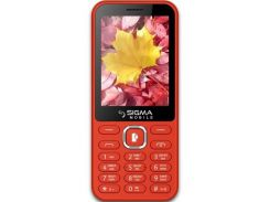 Sigma mobile X-style 31 Power Dual Sim Red (6875239)