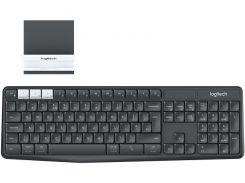 Беспроводная клавиатура с подставкой Logitech Wireless K375s Graphite USB 920-008184 (7512960)
