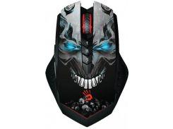 Мышь беспроводная A4Tech R80A Bloody Skull Black (9461520)