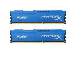 Оперативная память Kingston DDR3 1866MHz 8GB 2x4GB HyperX Fury Blue HX318C10FK2/8 (4884658)