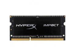 Оперативная память Kingston SO-DIMM DDR3 1866MHz 8GB HyperX Impact Black HX318LS11IB/8 (5008643)