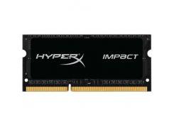 Оперативная память Kingston SO-DIMM DDR3L 1600MHz 8GB HyperX Impact Black HX316LS9IB/8 (5008639)