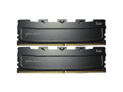 Оперативная память для компьютера DDR4 16GB 2x8GB 2400 MHz Black Kudos eXceleram EKBLACK4162414AD (8498616)