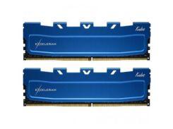 Оперативная память для компьютера DDR4 16GB 2x8GB 2666 MHz Kudos Blue eXceleram EKBLUE4162619AD (8498623)