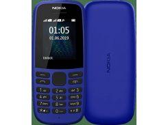 Мобильный телефон Nokia 105 TA-1174 Dual Sim 2019 Blue (s-231466)