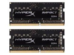 Оперативная память для ноутбука SoDIMM DDR4 8GB (2x4GB) 2400 MHz HyperX Impact Kingston HX424S14IBK2/8 (s-230341)