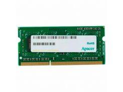 Оперативная память для ноутбука SoDIMM DDR3 4GB 1600 MHZ Apacer DS.04G2K.KAM (5104867)