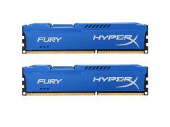 Оперативная память Kingston 16 GB 2x8GB DDR3 1600 MHz HyperX FURY HX316C10FK2/16 (4884750)