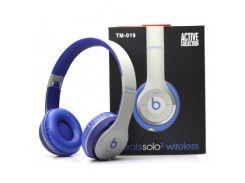 Наушники Monster Beats Solo2 Wireless TM-019 Grey Blue (au004-hbr)
