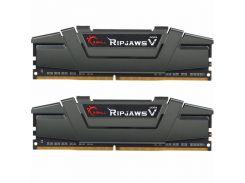 Оперативная память для компьютера DDR4 16GB (2x8GB) 3200 MHz RipjawsV G.Skill F4-3200C16D-16GVGB (5441287)