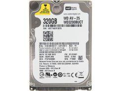 жесткий диск для ноутбука western digital av-25 320gb 5400rpm 16mb (wd3200buct) refurbished (wd3200buct)