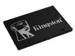 Накопитель SSD 256GB Kingston KC600 2.5 SATAIII 3D TLC Bundle Box (SKC600B/256G)