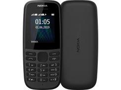 Nokia 105 2019 Single Sim Black