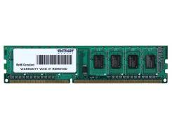 Оперативная память DDR3 4GB/1333 Patriot Signature Line (PSD34G133381)