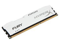 Оперативная память DDR3 4GB/1600 Kingston HyperX Fury White (HX316C10FW/4)