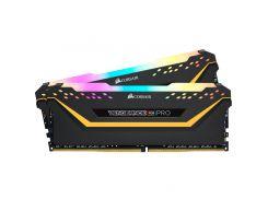 Оперативная память DDR4 16GB 2x8GB/3200 Corsair Vengeance RGB Pro Black (CMW16GX4M2C3200C16-TUF)