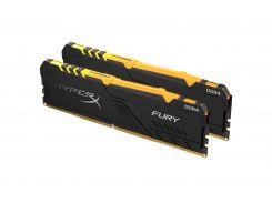 Оперативная память DDR4 2х16GB/3733 Kingston HyperX Fury RGB (HX437C19FB3AK2/32)