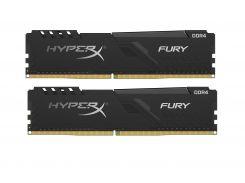 Оперативная память DDR4 2х4GB/2666 Kingston HyperX Fury Black (HX426C16FB3K2/8)