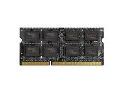 Оперативная память SO-DIMM 8GB/1600 1,35V DDR3 Team (TED3L8G1600C11-S01)