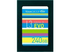 Накопитель SSD 240GB Team L3 EVO 2.5 SATAIII TLC (T253LE240GTC101)