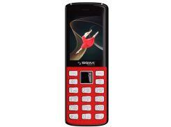 Мобильный телефон Sigma mobile X-style 24 ONYX Red (s-232691)