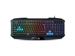 Клавиатура Genius Scorpion K215 Black UKR USB (31310474105)