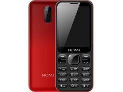 Nomi i284 Dual Sim Red
