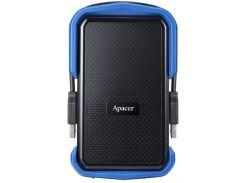 HDD накопитель Apacer AC631 2TB (AP2TBAC631U-1) USB 3.1 Blue (6376241)