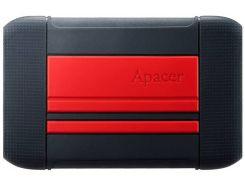 HDD накопитель Apacer AC633 1TB (AP1TBAC633R-1) USB 3.1 Red (6428273)