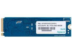 SSD накопитель Apacer AS2280P4 480GB PCIe 3.0x4 M.2 (AP480GAS2280P4-1) (6491153)