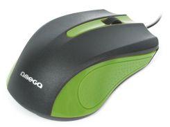 Мышь Omega OM05G Green (6343531)