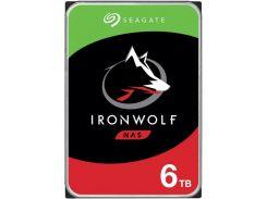 Накопитель HDD SATA 6.0TB Seagate IronWolf NAS 5400rpm 256MB (ST6000VN001)