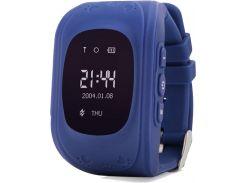 смарт-часы uwatch q50 kid smart watch dark blue (50514)