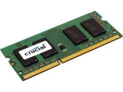 Оперативная память SO-DIMM 4GB/1600 1,35V DDR3L Crucial (CT51264BF160B) - Refubrished