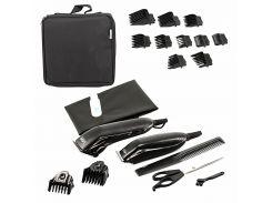 Профессиональная машинка для стрижки волос + триммер для коррекции 2в1 VGR V 023 Черный (10530)