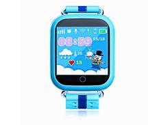 Детские умные часы-телефон GPS Smart Watch Q100 Голубые