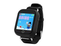 Детские умные часы-телефон GPS Smart Watch Q100 Чёрные