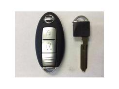 Автоключ с Remote Nissan RK27