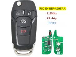 Автоключ с Remote Ford RK13