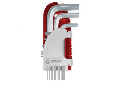 Набор Г-образных шестигранных ключей 9 шт. INTERTOOL HT-1801