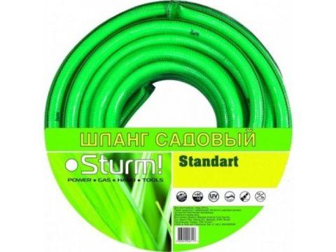 "Шланг садовый 1/2"" 30м Standart Sturm 3015-18-1230"