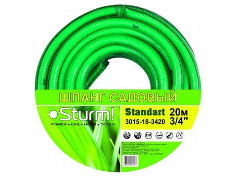 "Шланг садовый 1/2"" 20м Standart Sturm 3015-18-1220"