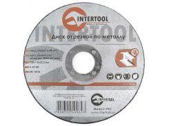 Диск отрезной по металлу 125x1,0x22,2 мм INTERTOOL CT-4006