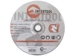Диск зачистной по металлу INTERTOOL CT-4025